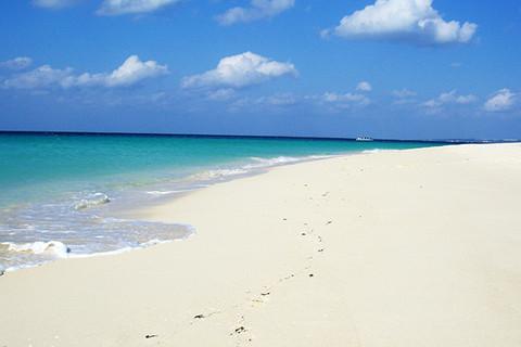 宮古島の海の魅力_東洋一白い砂浜!前浜編