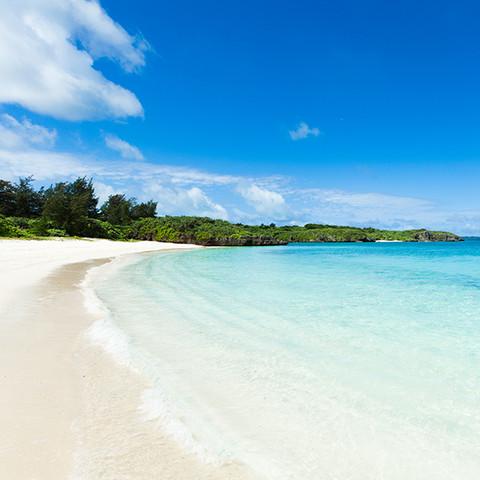 宮古島の海の魅力_白い砂浜編