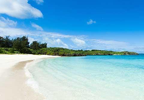 東洋一の白浜ビーチ!宮古島の前浜