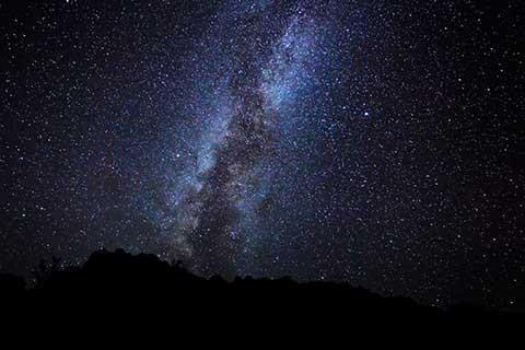 宮古島の星空のイメージ_肉眼で天の川