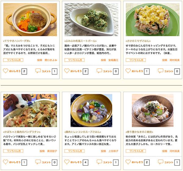 GEX社のラクック特設サイトにペット食育協会(APNA)が犬の手作りご飯レシピを提供し、須崎恭彦が監修